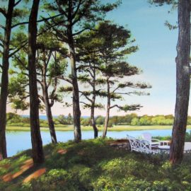 Osterville Massachusetts on Cape Cod by Artist Charles C. Clear III