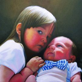 Light of Love Portrait of Children by Charles C. Clear III